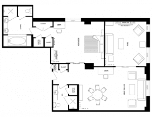 The Windsor Arms Hotel Suite Floor Plan