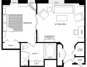 The Windsor Arms Hotel Floor Plan