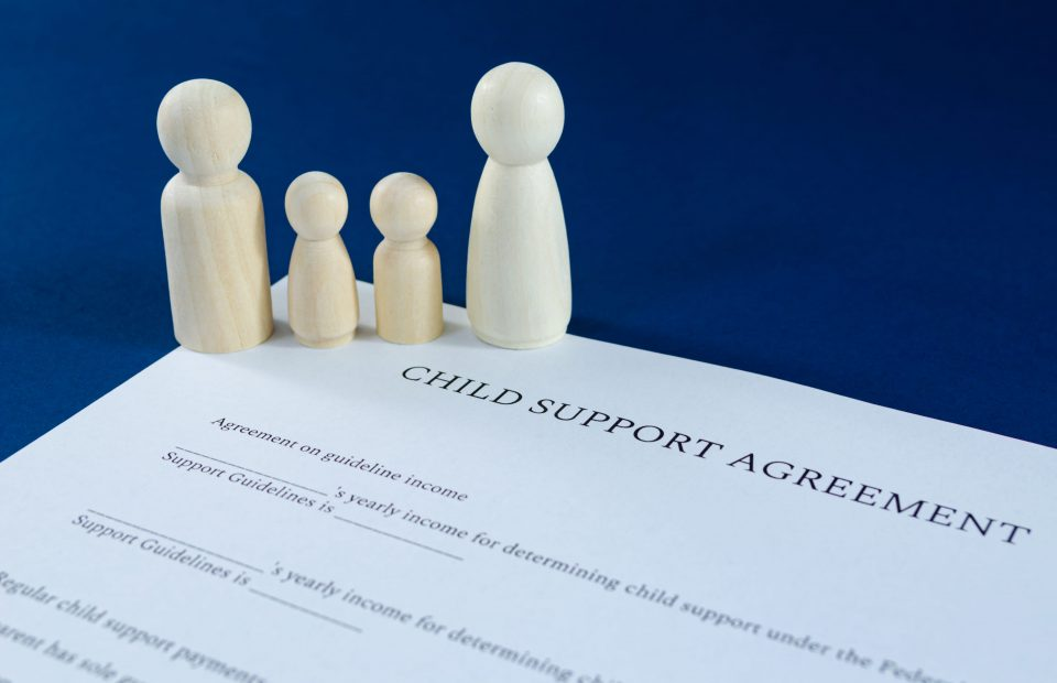 Women Pay Child Support